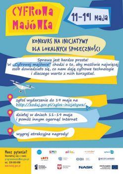 Za³±cznik nr 2 Cyfrowa Majówka - plakat informacyjny