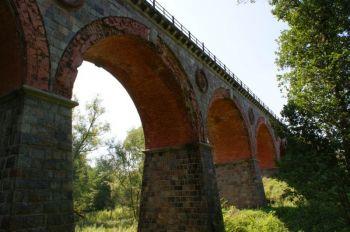 most kolejowy nad Boruj± w Bytowie
