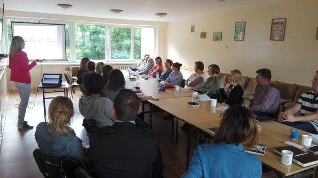 Spotkanie inauguruj±ce Sieæ Doradców Edukacyjno-Zawodowych w Powiecie Bytowskim