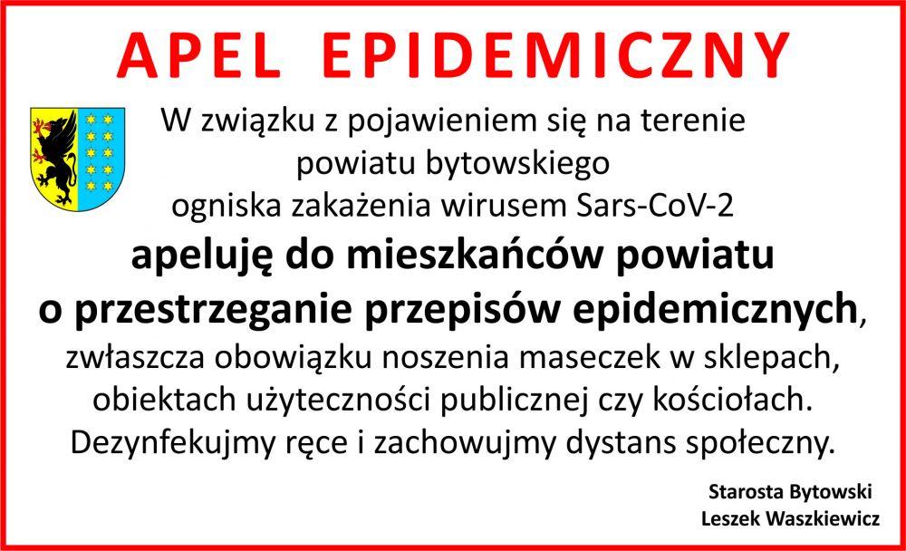 APEL EPIDEMICZNY