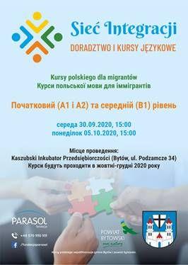 Kursy polskiego dla imigrantów w Bytowie