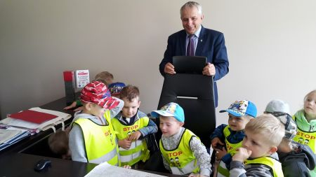 Wizyta dzieci z Niepublicznego Przedszkola ¦wiêtego Filipa w Bytowie