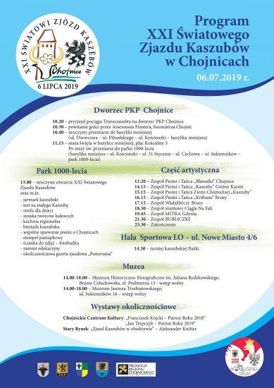 XXI ¦wiatowy Zjazd Kaszubów w Chojnicach