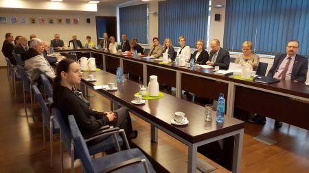 Spotkanie z Wójtami, Burmistrzami Gmin z terenu powiatu bytowskiego