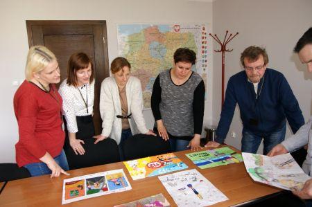 Powiatowe eliminacje XVIII edycji Ogólnopolskiego Konkursu Plastycznego