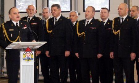 Komendant PSP Lech Chrostowski odszed³ na emeryturê