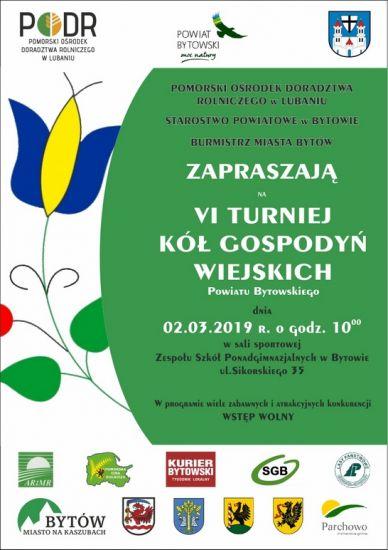 VI Turniej Kó³ Gospodyñ Wiejskich Powiatu Bytowskiego