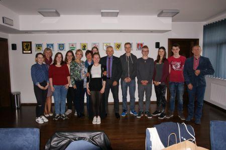 Wizyta uczni�w z Niemiec