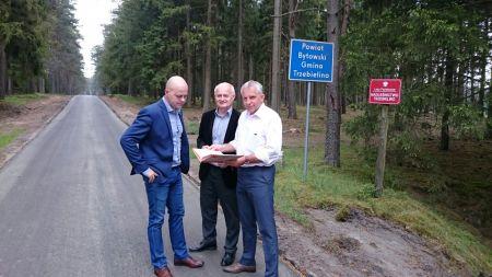 Remonty dróg w gminie Trzebielino