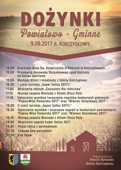 Do¿ynki Powiatowo - Gminne - Ko³czyg³owy 09.09.2017r