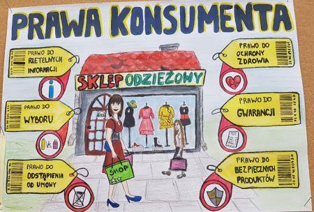 """I Powiatowy Konkurs """"Prawa Konsumenta"""""""