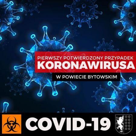 Pierwszy potwierdzony przypadek koronowirusa w powiecie bytowskim
