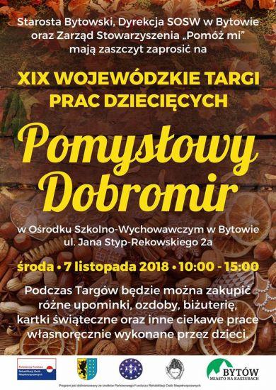 XIX Wojewódzkie Targi Prac Dzieciêcych