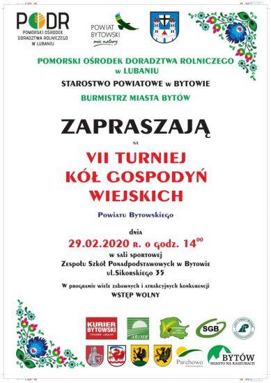 VII Turniej Kó³ Gospodyñ Wiejskich Powiatu Bytowskiego