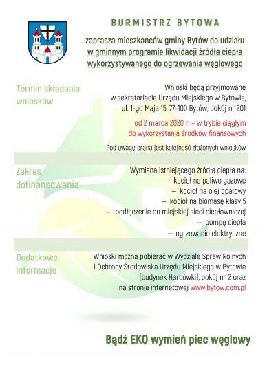 Rusza gminny program wymiany pieców