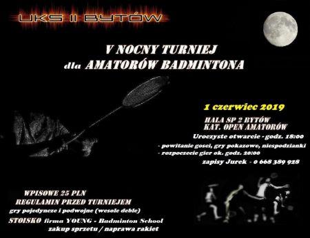 V Nocny Turniej Badmintona