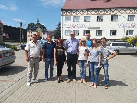 Delegacja z Ukrainy w Powiecie Bytowskim