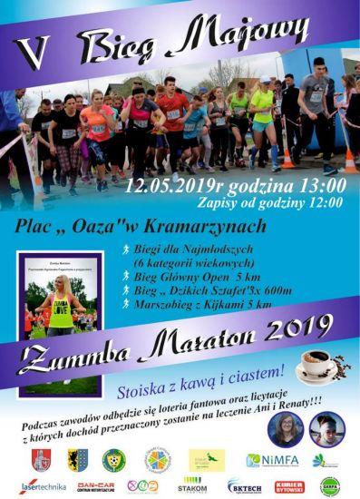 V Bieg Majowy i Zumba Maraton