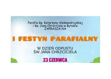 I Festyn Parafialny Parafii ¶w. Katarzyny