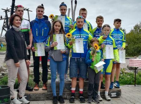 Kolarze i biegacze w Schmalkalden-Meiningen