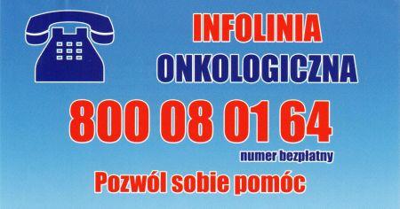 Ca³odobowa infolinia onkologiczna