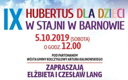 IX edycja HUBERTUSA w Barnowie