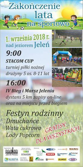IV Bytowski Bieg i Marsz Nordic Walking Jelenia