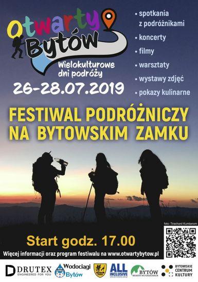 Festiwal: Wielokulturowe Dni Podró¿y- Otwarty Bytów 2019