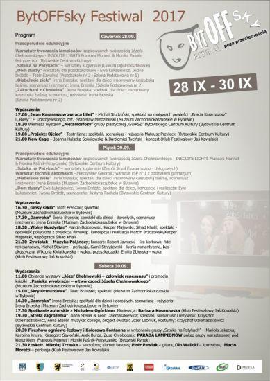 BytOFFSky Festiwal