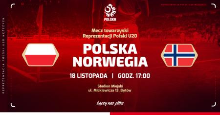 Mecz towarzyski Polska - Norwegia U20