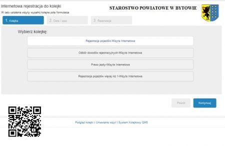 Internetowa rejestracja do kolejki w wydziale Komunikacji i Drogownictwa