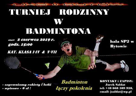 Turniej Rodzinny w Badmintona