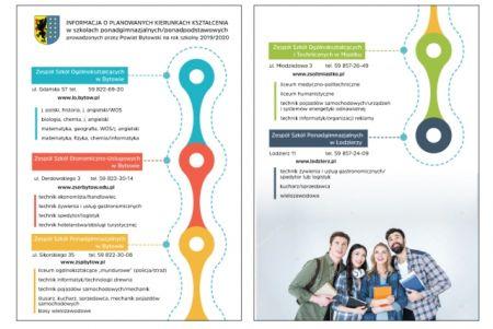Informacje o planowanych kierunkach kszta³cenia w szko³ach ponadgimnazjalnych, ponadpodstawowych
