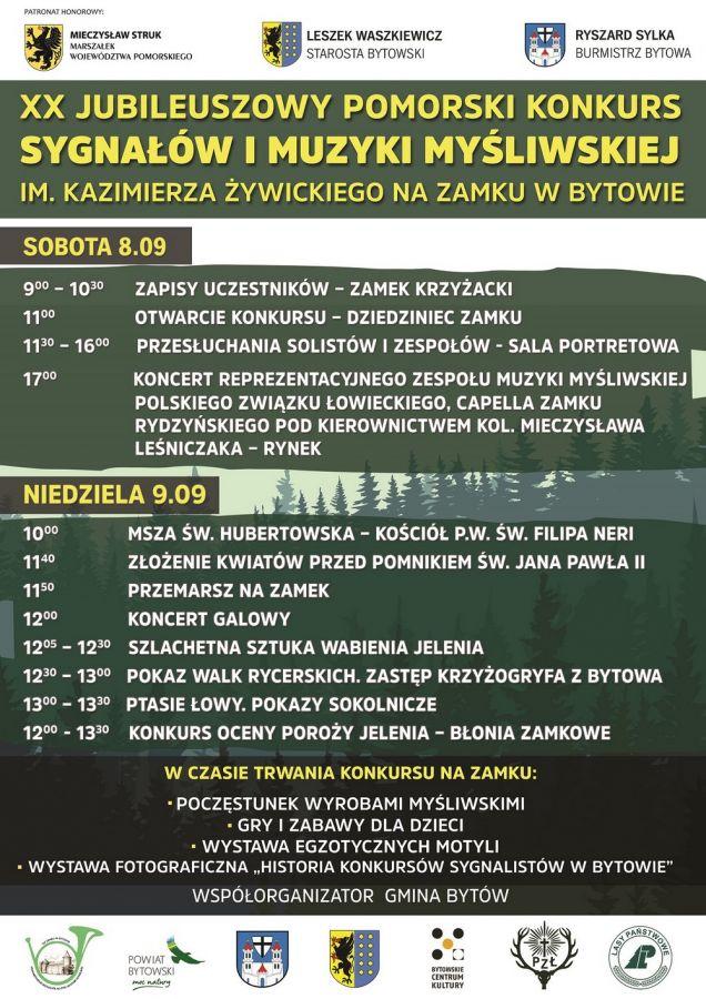 XX Jubileuszowy Konkurs Sygna³ów i Muzyki My¶liwskiej
