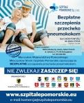 Bezpłatne szczepionki przeciwko pneumokokom dla pacjentów z pomorskich powiatów