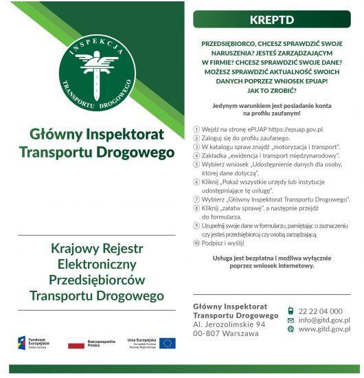 Elektroniczny formularz KREPTD