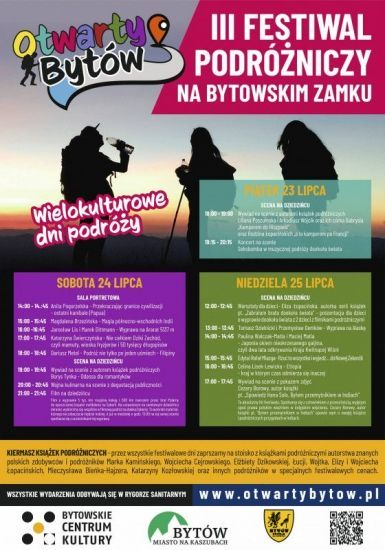 """III Festiwal podró¿niczy """"Wielokulturowe dni podró¿y – Otwarty Bytów"""""""